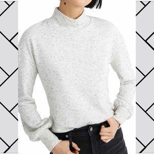 MADEWELL | donegal mock neck sweatshirt [NWT]